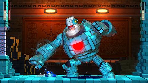 Mega Man 11 Mega Man kämpft.jpg