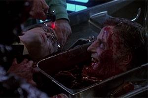 ReAnimator Zombie Film Zombie redet