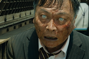 Train to Busan Zombie Film Mann wird Zombie