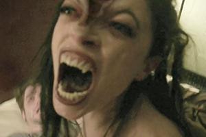 VHS Film Scene Zombie