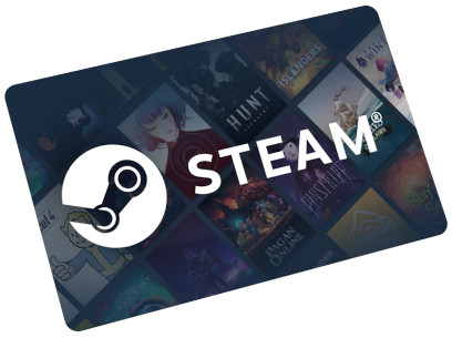 Buy a Steam gift card on Mobiletopup.co.uk