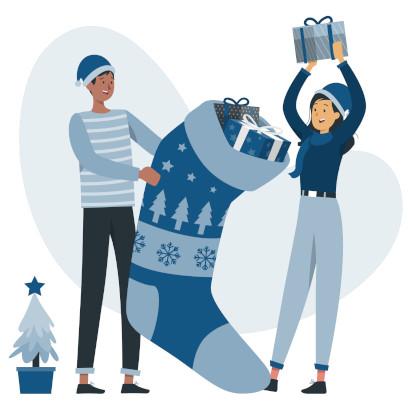 Cadeaux de Noël pour femme y homme