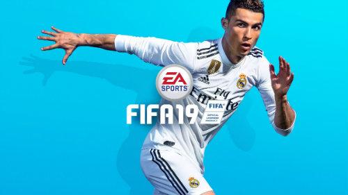 Christiano Ronaldo auf dem Cover