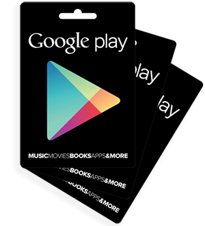 Buy the Google Play apps with the Google Play Voucher of Mobiletopup.co.uk