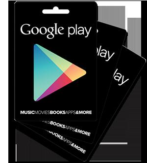 Kaufen Sie die besten Google Play Apps mit einer Google Play Karte!
