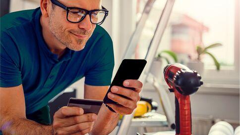 Gebruik je prepaid creditcard alleen op een veilige wifi