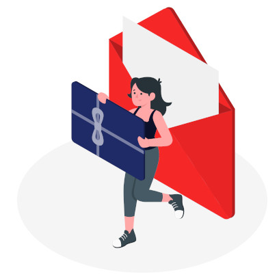 Rode envelop cadeau ideeën