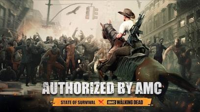 State of Survival spelen met Google Play card