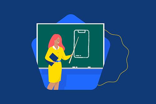 Guide sur la sécurité mobile pour les adolescent.e.s