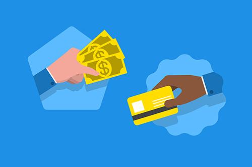 Waar koop je een prepaid creditcard met contant geld?
