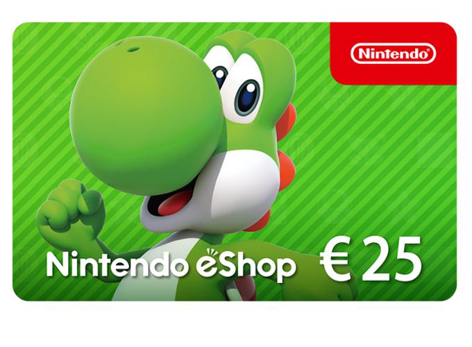 Nintendo eShop Card 25 EUR