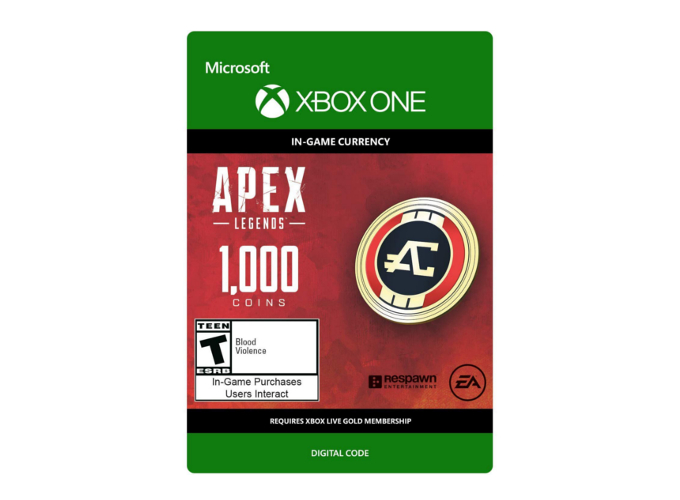 Apex Legends 1000 Coins (Xbox One)
