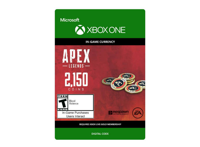Apex Legends 2150 Coins (Xbox One)