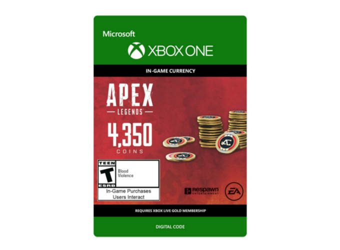 Apex Legends 4350 Coins (Xbox One)