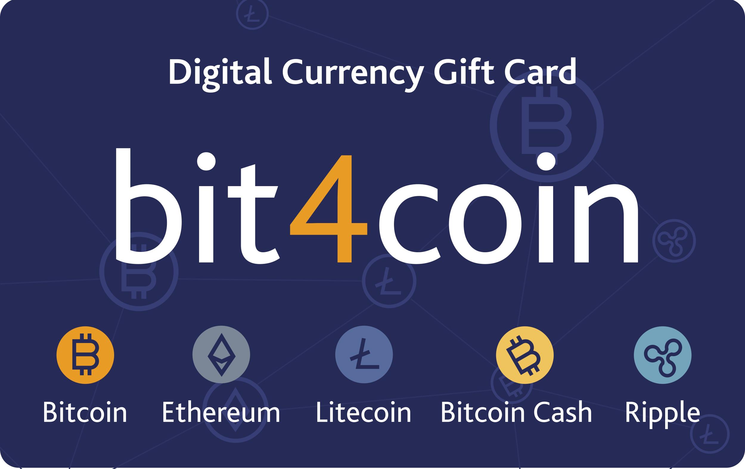 bit4coin gift card £25