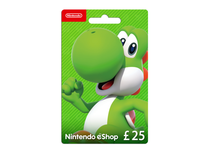Nintendo eShop Card 25 Pounds