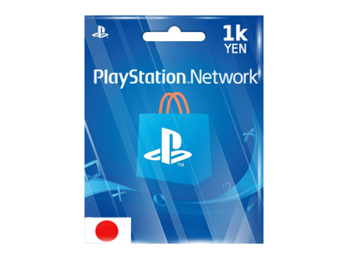 Playstation Network JP 1,000 YEN