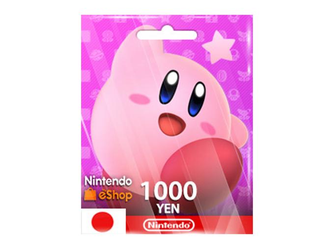 Nintendo eShop Card 1,000 YEN (JP)