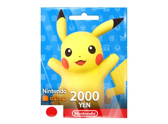Nintendo eShop Card 2,000 YEN (JP)