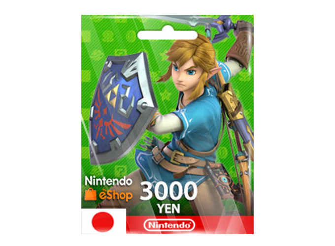 Nintendo eShop Card 3,000 YEN (JP)