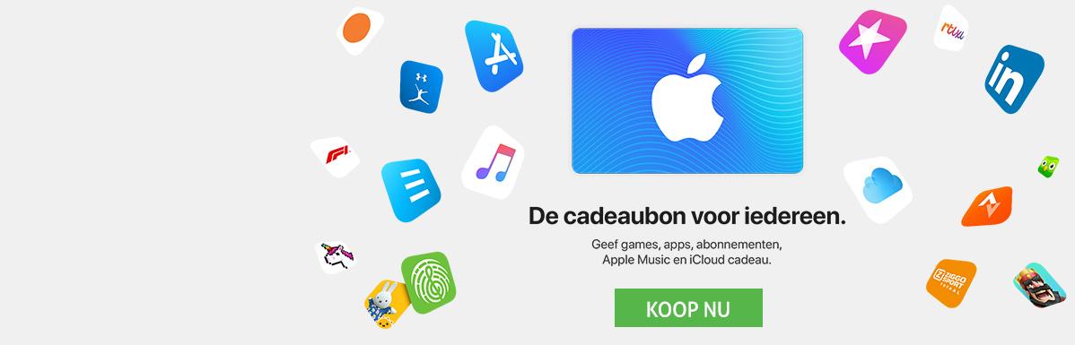 Cadeaukaart App Store