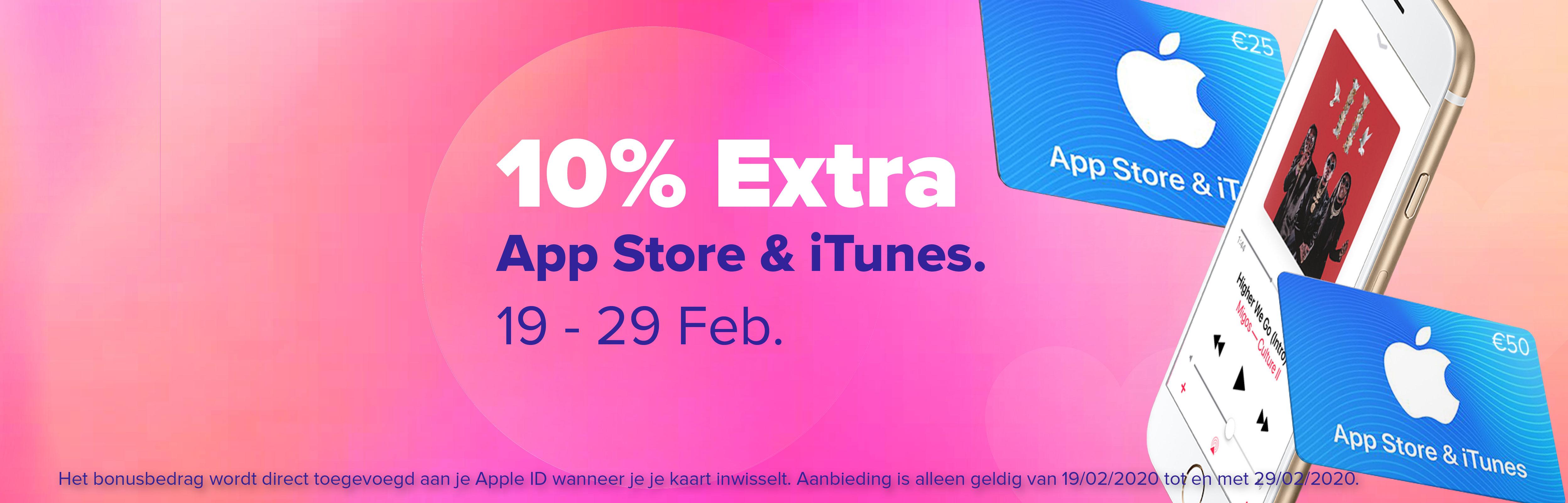 App Store & iTunes + 10% Extra