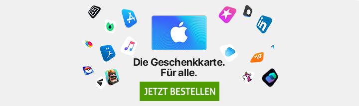 App Store & iTunes Karte