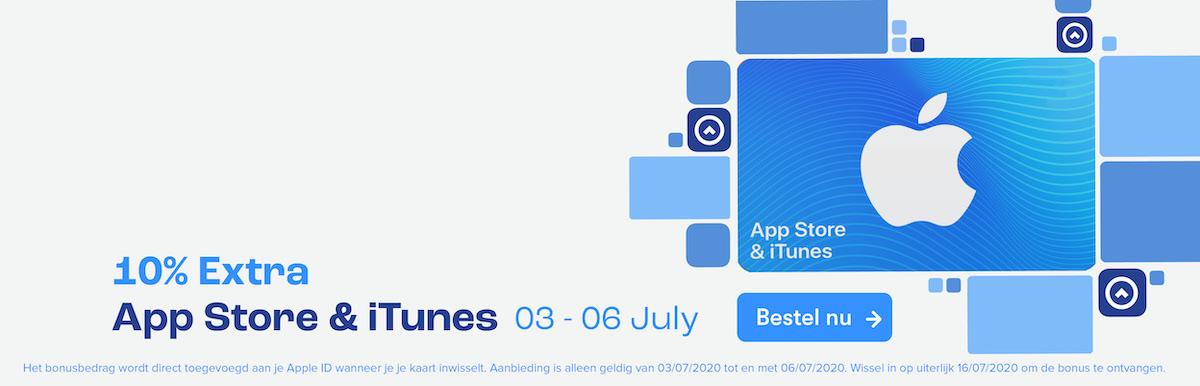 App Store & iTunes +10% Extra